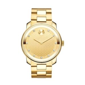 Authentic Gold Ion Plated Movado Bold Watch